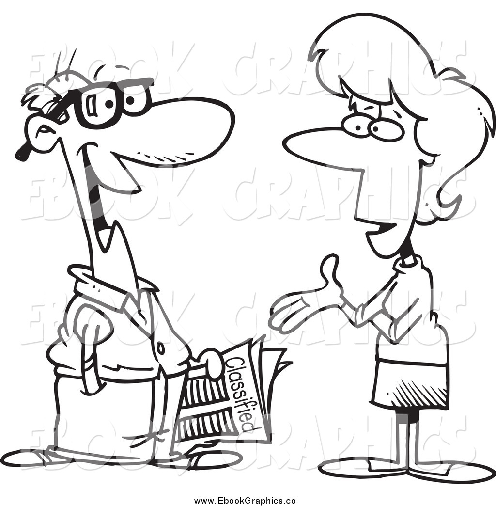 To clipartfest . A man and a woman talking clipart