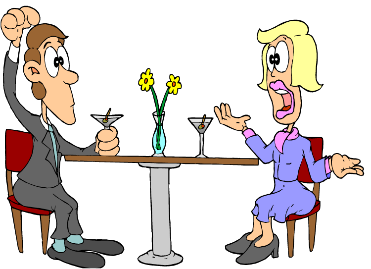 A man and a woman talking clipart. Clipartfest business days of