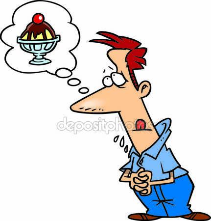 A man craving a d clipart. Clipartfox cartoon ice cream