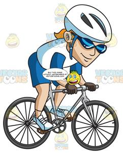 A man driving bike clipart clipart freeuse download A Man Riding A Mountain Bike clipart freeuse download