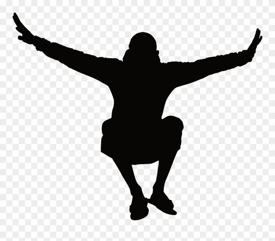 A man jumping clipart clip art Man Jumping Silhouette Icons Png - Jumping Man Clip Art Transparent ... clip art