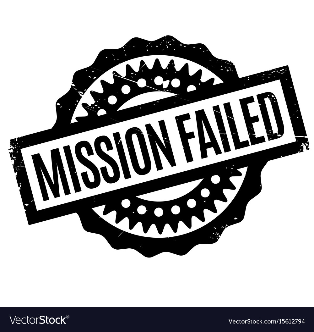 A mission clipart vector clipart freeuse stock Mission failed rubber stamp clipart freeuse stock