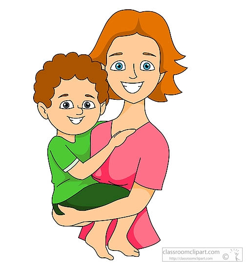 A mom clipart graphic black and white Boy and mother clipart clipartsgram - Clipartable.com graphic black and white