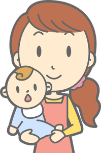 A mother and baby clipart svg free download 1499 free clipart mother holding baby | Public domain vectors svg free download