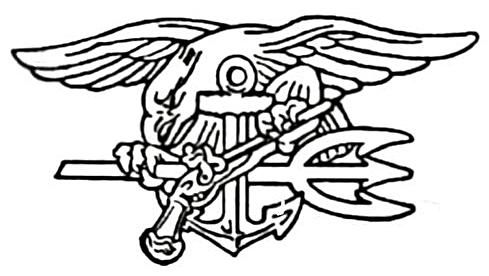 A navy seal clipart black and white stock Navy Seal Drawing   Free download best Navy Seal Drawing on ... black and white stock