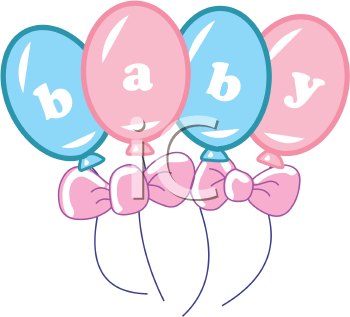 A new baby clipart picture library download New Baby Clipart - Baby Balloons | Baby Carleigh | Baby clip art ... picture library download
