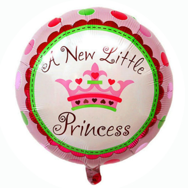 A new little princess clipart vector free library A New Little Princess Balloon (45cm) vector free library