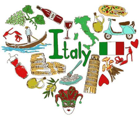 A night in italy clipart svg royalty free Italy - Date Night Box svg royalty free