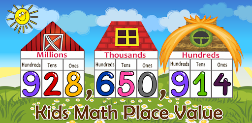 A number in the hundred thousands clipart svg freeuse download Kids Math Place Value - Apps on Google Play svg freeuse download