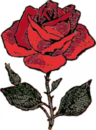 A open rose clipart image freeuse download Download Roses Rose Vector In Open Office Drawing Clipart PNG Free ... image freeuse download