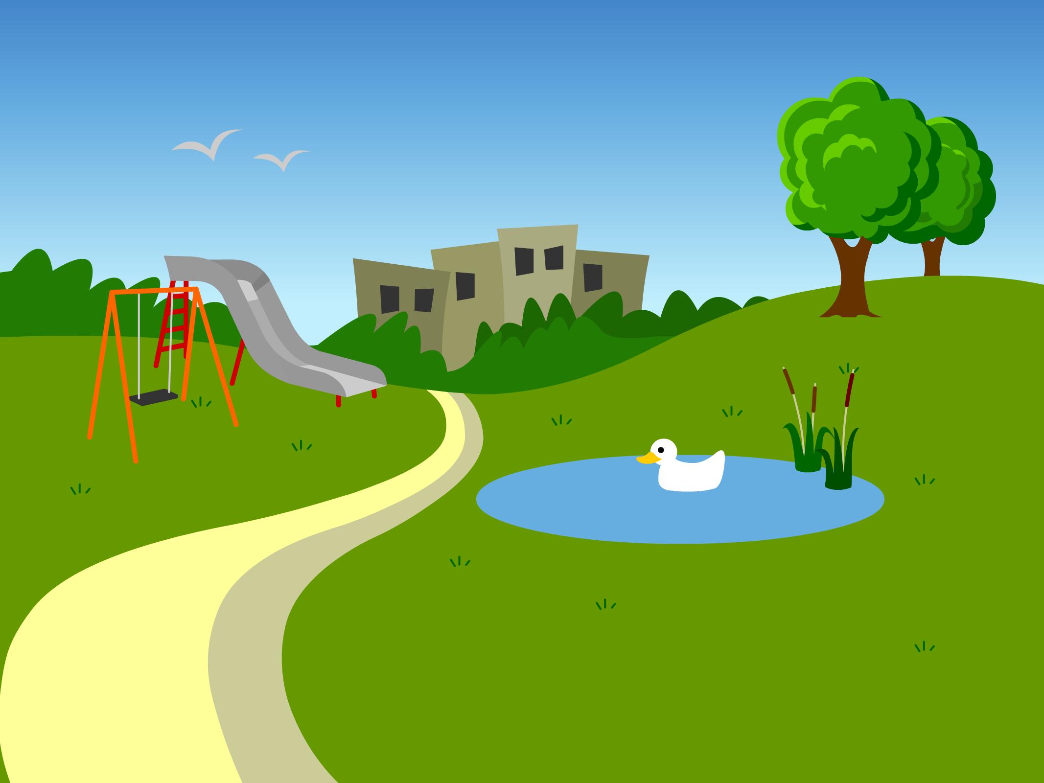 Clipart parc vector transparent stock Park clipart free download clip art on | amer jum | Park, Clip art ... vector transparent stock