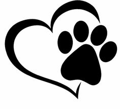 A paw print clipart png royalty free download Heart clip art paw print - 15 clip arts for free download on EEN png royalty free download