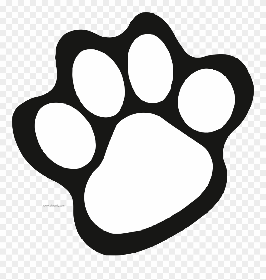 A paw print clipart picture Paw Print Fashion Stellaconstance Co - Cub Scout Paw Print Clipart ... picture