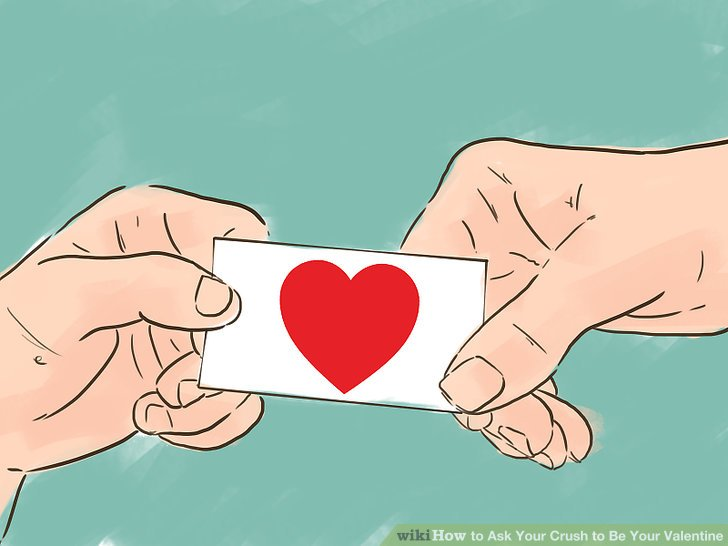 A person crushing on a person clipart clip free stock 3 Ways to Ask Your Crush to Be Your Valentine - wikiHow clip free stock