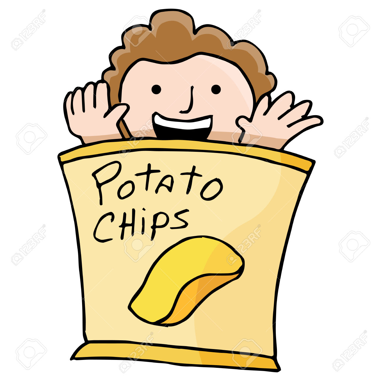 A person eating food clipart graphic transparent library Eating Junk Food Clipart | Free download best Eating Junk Food ... graphic transparent library
