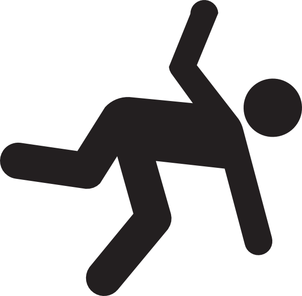 Black and white clipart someone falling down clipart black and white library Free Person Falling Cliparts, Download Free Clip Art, Free Clip Art ... clipart black and white library