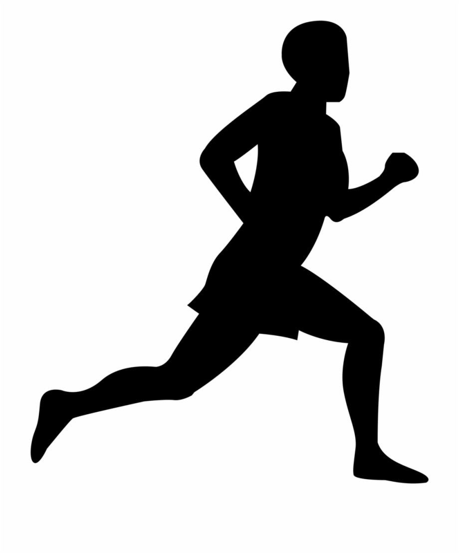 A person running clipart royalty free stock Free Clip Art Of Person Running Clipart - Running Man Silhouette Png ... royalty free stock