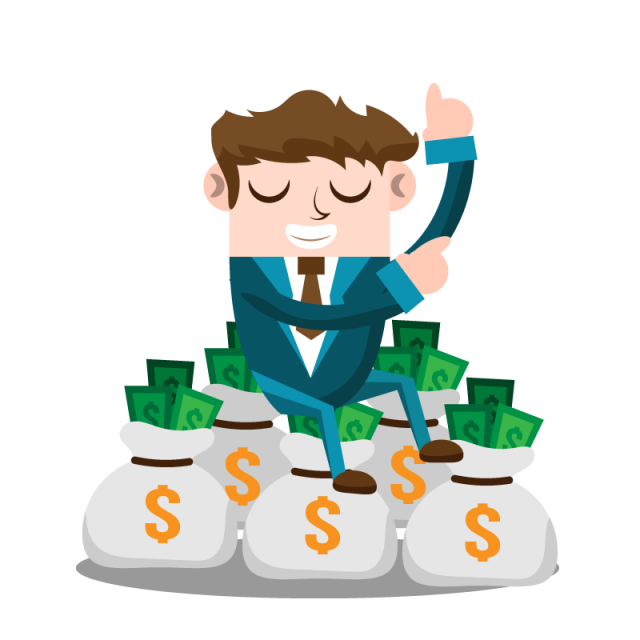 Business Man With Money, Business, People, Man PNG and Vector for ... png library