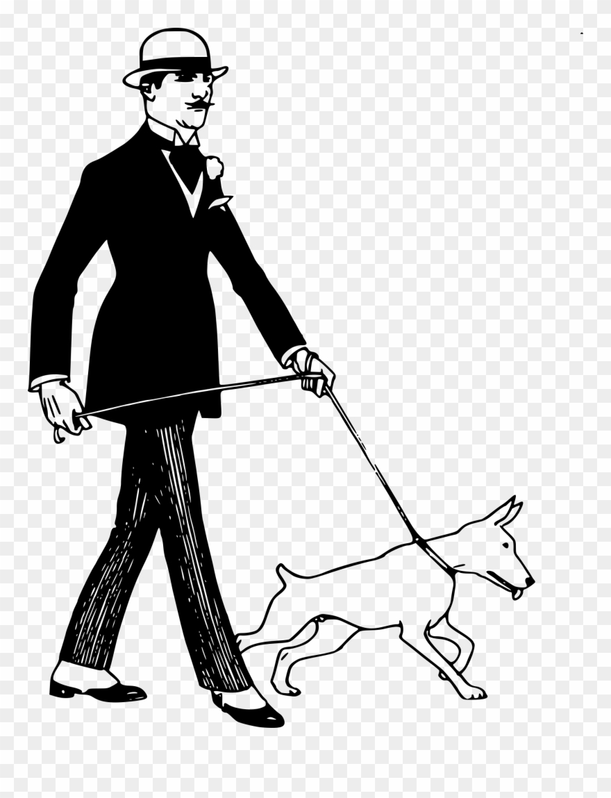 Animal vs man clipart banner royalty free library Jpg Black And White Stock Clipart Dog Man Big Image - Dog With A Man ... banner royalty free library