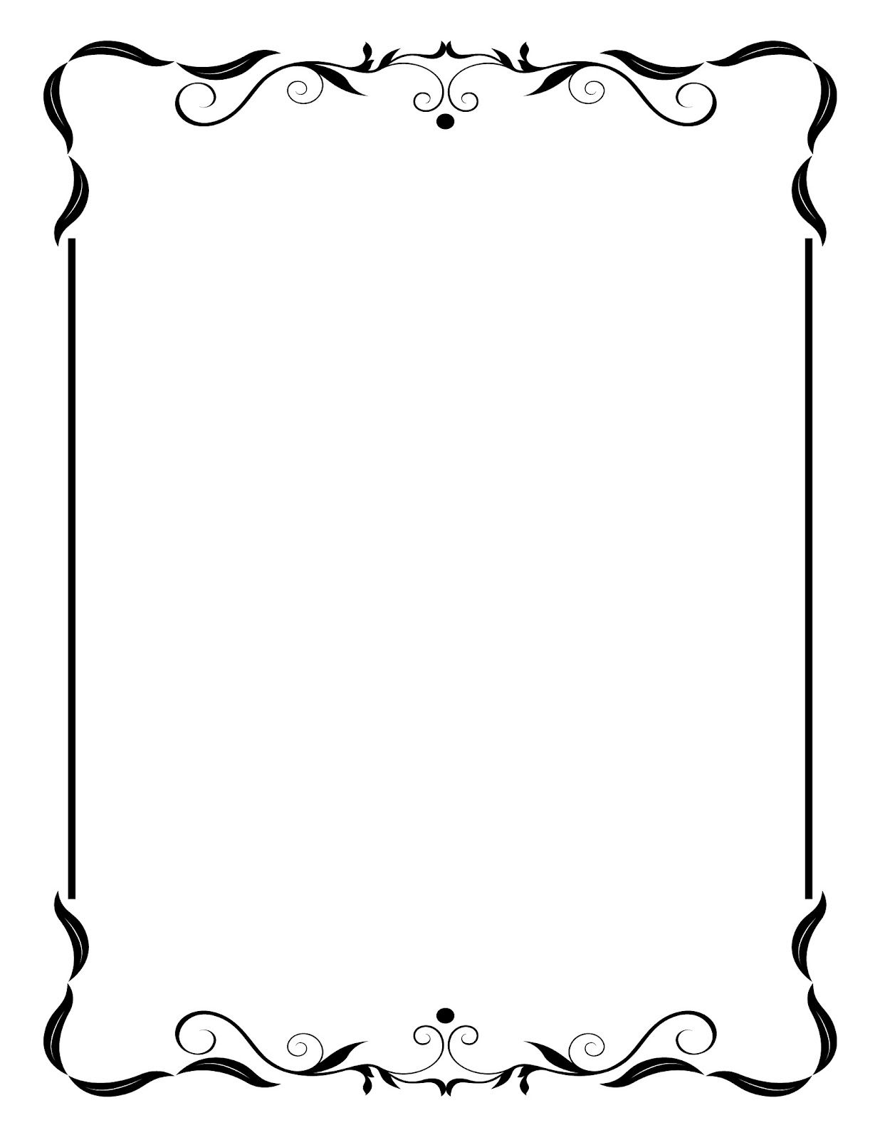 Vintage frames rectangle clipart