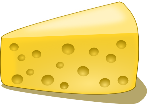 A piece of cheese clipart png royalty free Piece Of Cheese Clipart   Clipart Panda - Free Clipart Images png royalty free