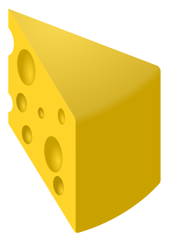 A piece of cheese clipart image freeuse stock Free Cheese Pictures, Download Free Clip Art, Free Clip Art on ... image freeuse stock