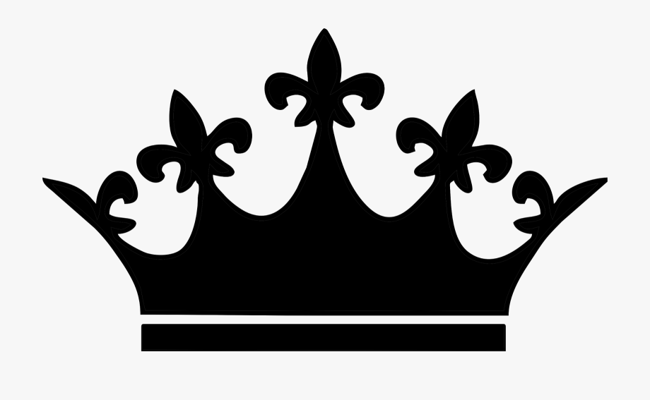 Serious clipart shilloutte svg free download Crown Clipart Silhouette - Queen Crown Png Vector #6162 - Free ... svg free download
