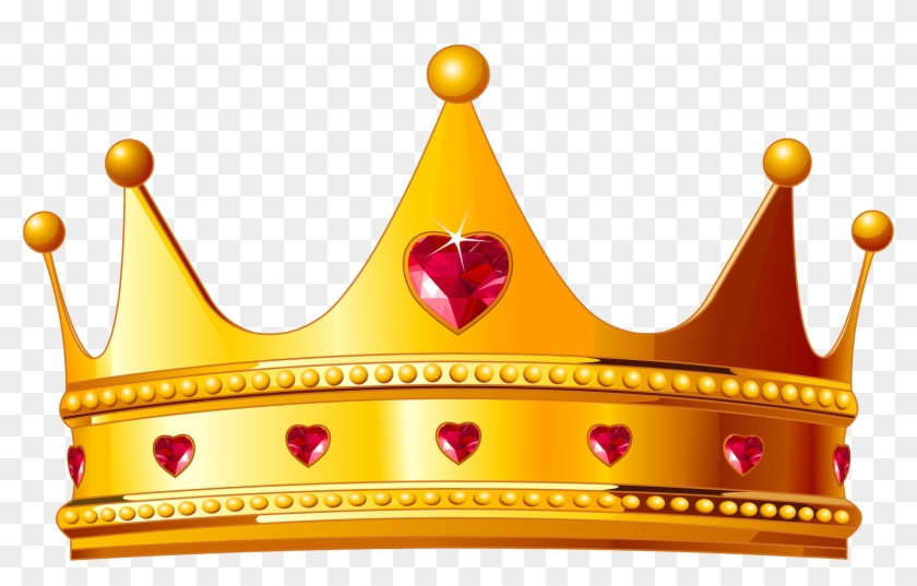A queen crown clipart clip library stock Gold Background Hd - Queen Crown Gold Png, Transparent Png ... clip library stock