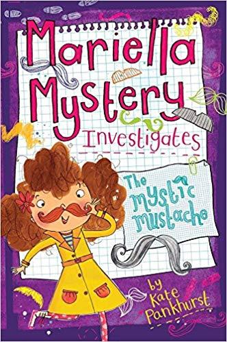 A reader investigates clipart transparent download Amazon.com: Mariella Mystery Investigates The Mystic Mustache ... transparent download