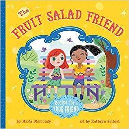 A recipe for friendship clipart clipart black and white download The Fruit Salad Friend: Recipe for A True Friend: Maria Dismondy ... clipart black and white download