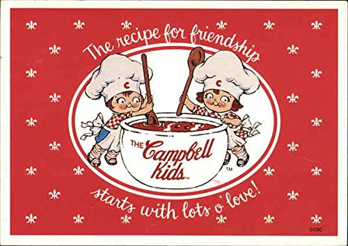 A recipe for friendship clipart clipart transparent stock Amazon.com: The Campbell Kids-The Recipe for Friendship Starts with ... clipart transparent stock