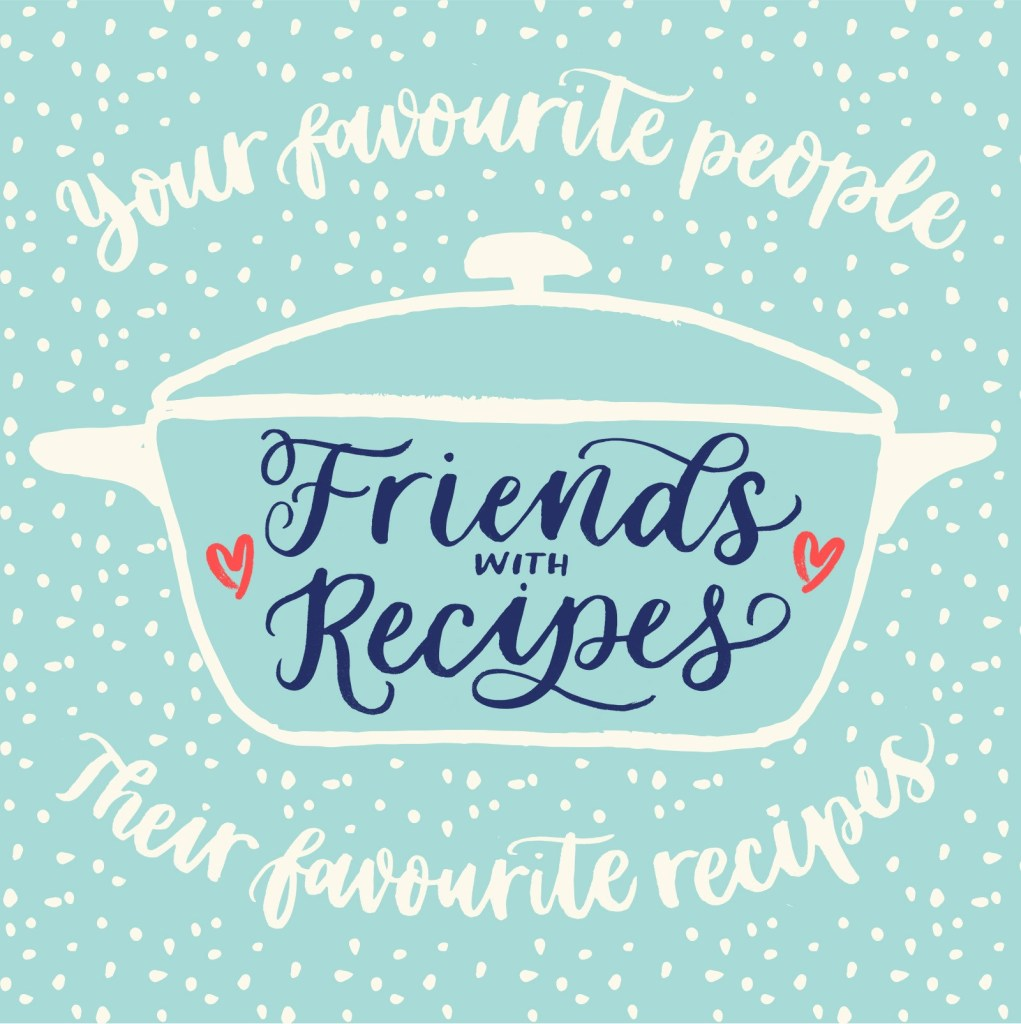 A recipe for friendship clipart vector stock Friends with Recipes: THE PODCAST!   hungermama vector stock