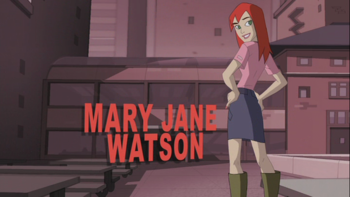 A red superhero girl fighting a blob monster clipart clip freeuse The Spectacular Spider-Man / Characters - TV Tropes clip freeuse