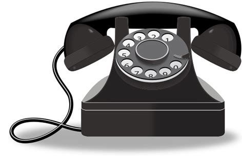 A rotary phone clipart png library library Telephone clipart rotary phone   Vintage   Phone clip, Phone, Clip art png library library