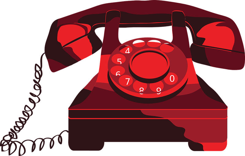 A rotary phone clipart banner transparent library Old Telephone Clipart - Clip Art Library banner transparent library