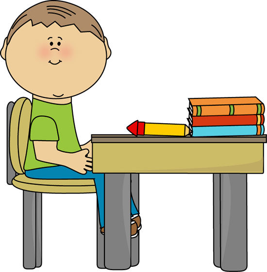 A school desk clipart banner library download School Boy at School Desk | Clip Art-School | School clipart, School ... banner library download