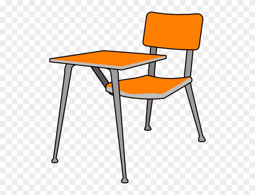 A school desk clipart png transparent stock Student Desk Clip Art - School Desk Clipart - Png Download (#45375 ... png transparent stock