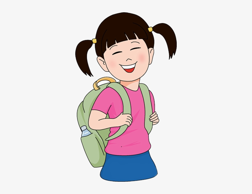 A school girl clipart picture freeuse stock School Girl Clipart Png - Free Transparent PNG Download - PNGkey picture freeuse stock