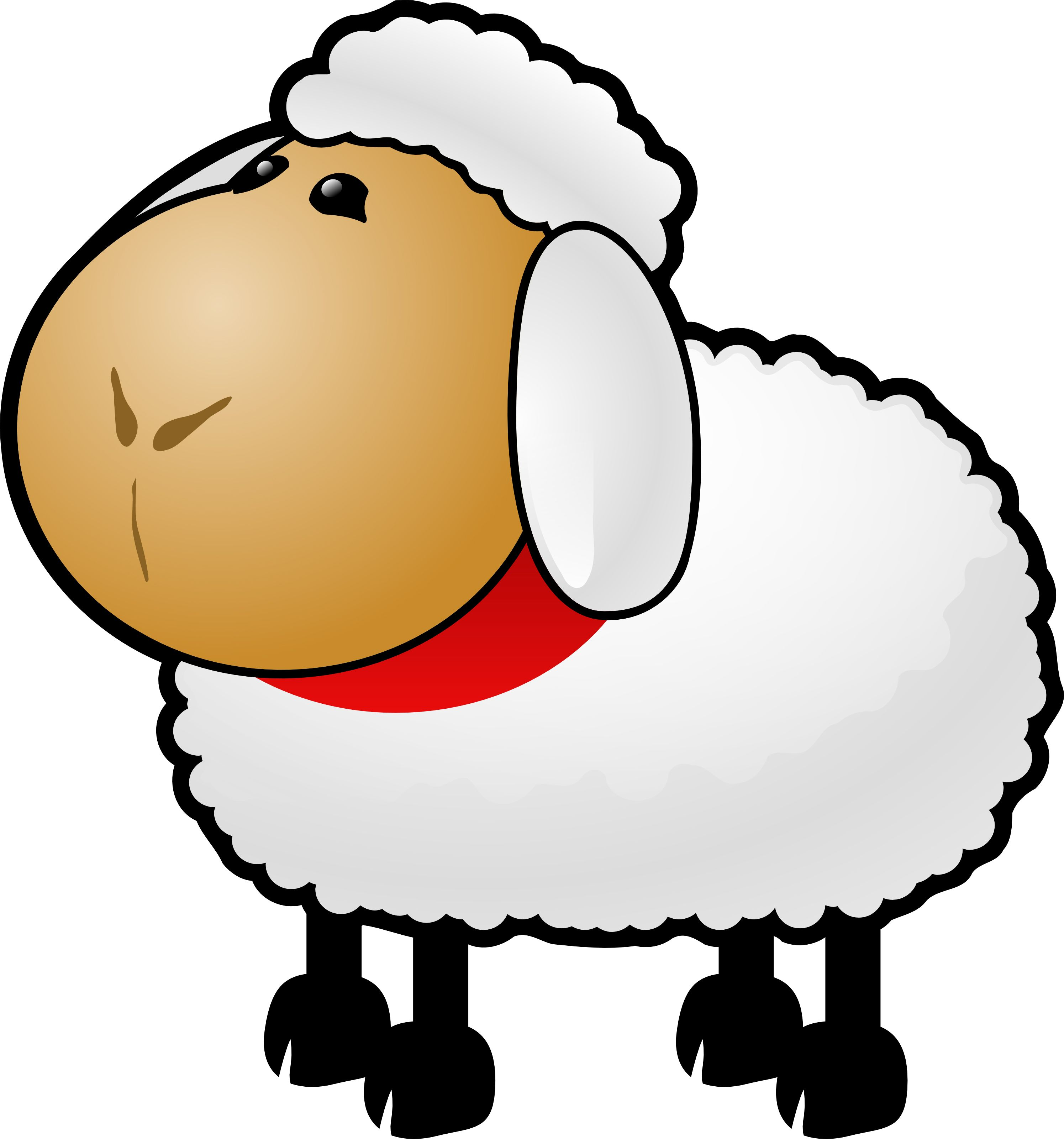A sheep clipart graphic library stock Free Cartoon Sheep Clipart | овечки | козочки 2015 sheep | goat ... graphic library stock