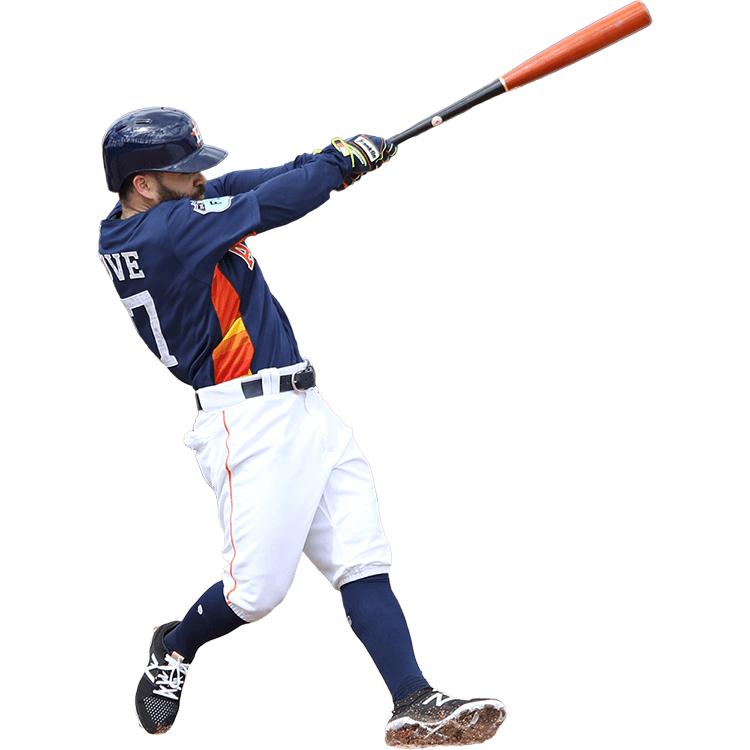A small baseball bat clipart jpg transparent stock What Pros Wear Jose Altuve (Bat, Glove, Cleats, Batting Gloves ... jpg transparent stock