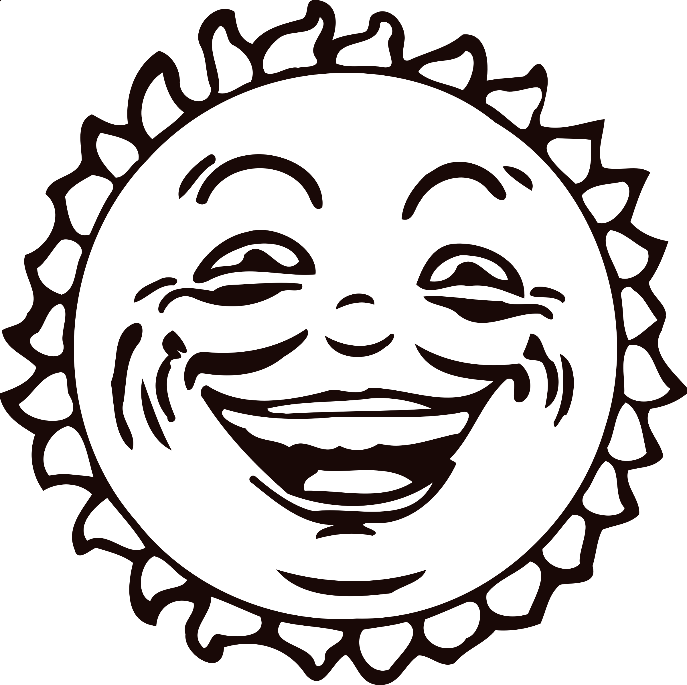 A smiling sun black and white clipart vector freeuse stock Clipart - Sun face 2 vector freeuse stock