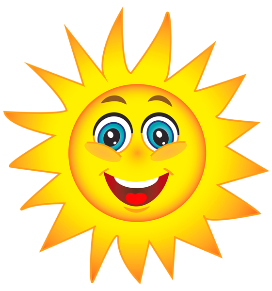 Healthy sun clipart clip black and white Sun Clipart | EEE-MoJiii | Pinterest | Smileys, Smiley and Emojis clip black and white