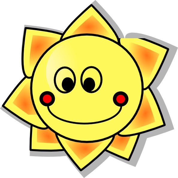Sun holding a sign clipart free vector library stock Smiling Sun Clipart Royalty Free | Clipart Panda - Free Clipart Images vector library stock