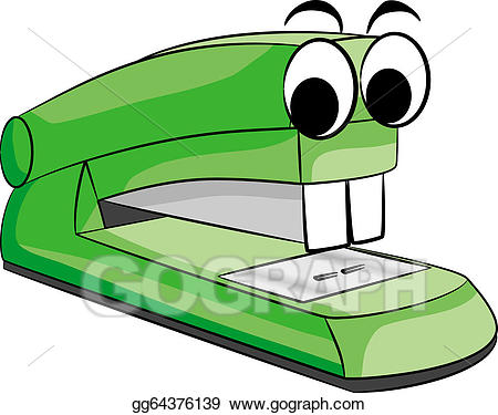 A staple clipart png library download Vector Clipart - Stapler animal. Vector Illustration gg64376139 ... png library download