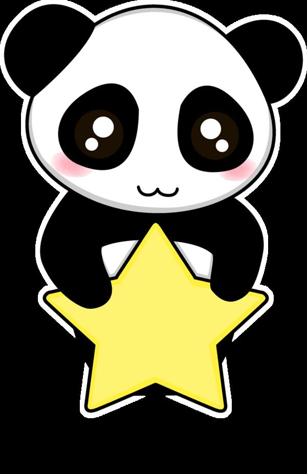 A star is born clipart clipart royalty free Panda star by o-YuRiko-o on DeviantArt clipart royalty free