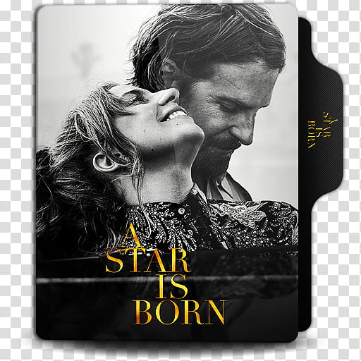 A star is born clipart black and white jpg free download A Star is Born Folder Icon, A Star is Born () transparent background ... jpg free download