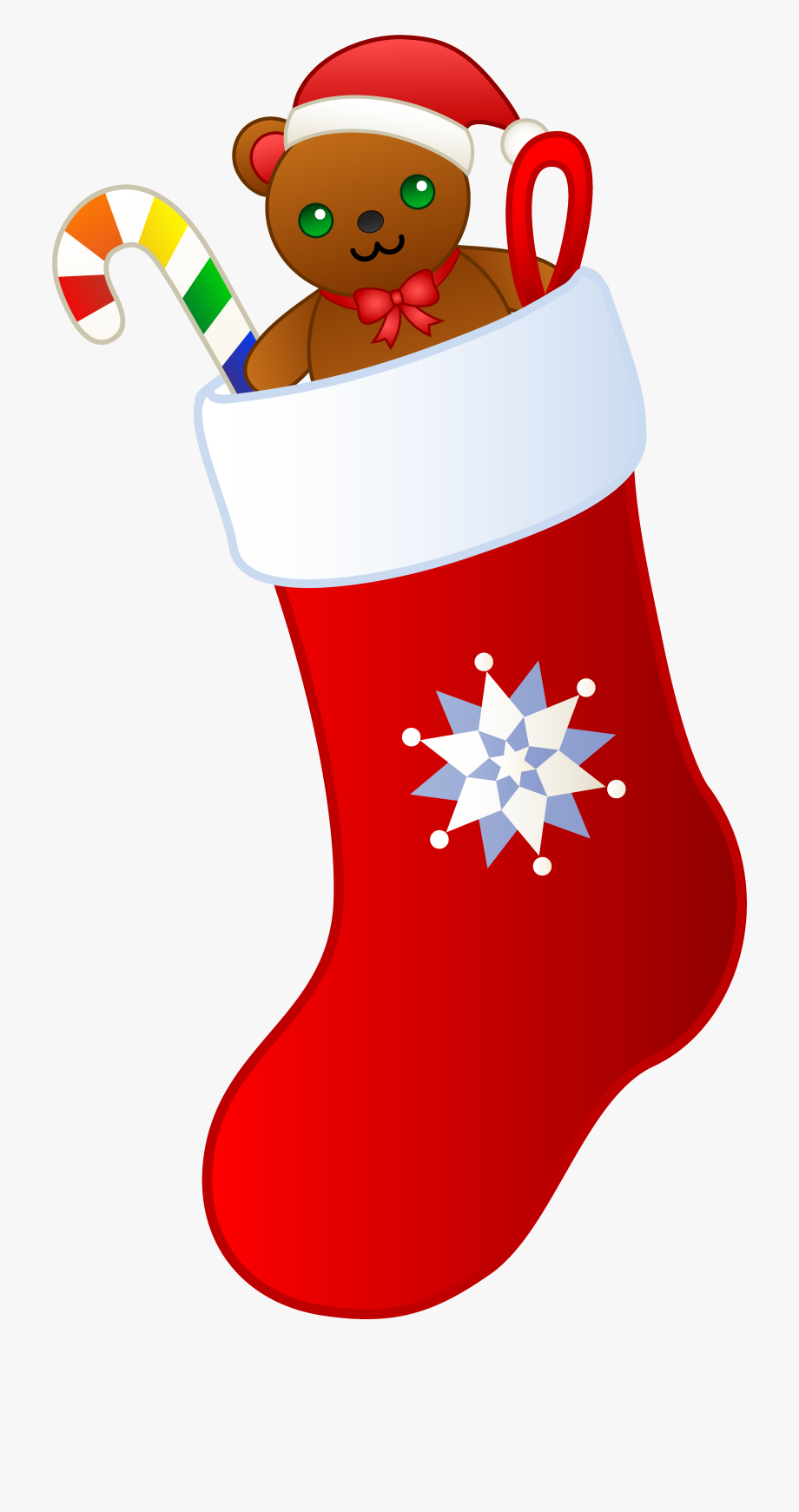 Christmas stocking clipart free