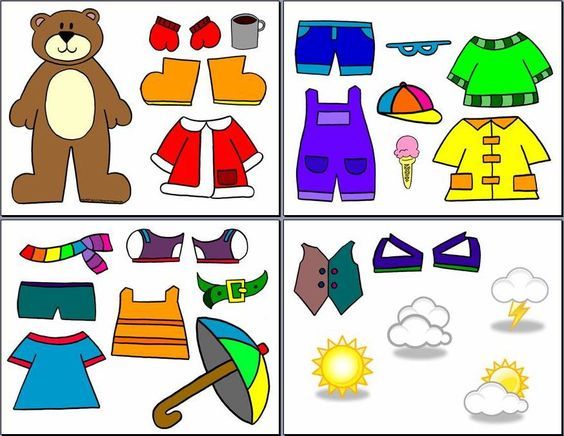 A teacher in a classroom with a skirt on clipart graphic stock Interactive Weather Dress Up Bear - Imaginative Teacher, for ... graphic stock