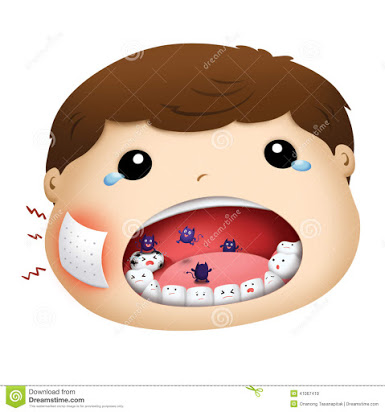 A toothache clipart vector transparent download Free clipart toothache vector transparent download