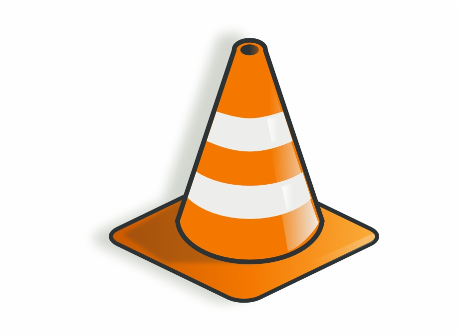 A traffic cone clipart graphic freeuse Traffic Cone 2 Clip Art - Construction Cone Clipart Free PNG Images ... graphic freeuse